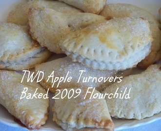 Truly Scrumptious Flaky Apple Turnovers and one Big turnover