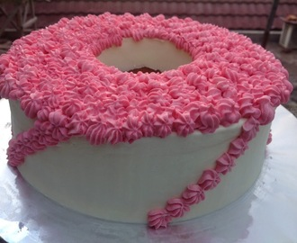 Strawberry cake hias ekonomis