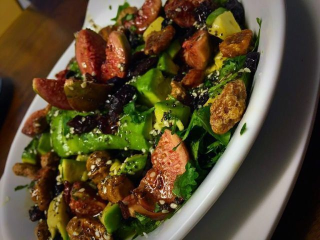 Avo , fig and dried cranberry salad | my recipe