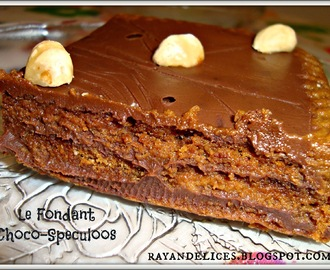 Fondant CHOCO-SPECULOOS (sans cuisson )