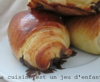 "Petits pains au chocolat ""illusion"""
