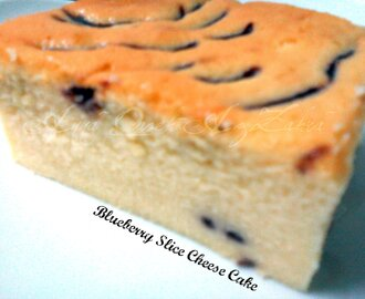 Blueberry Slice Cheese Cake