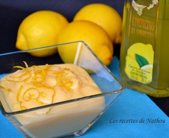 Lemon curd au Limoncello