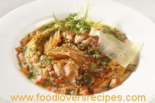 ITALIAN LAMB STEW WITH EGG TOPPING