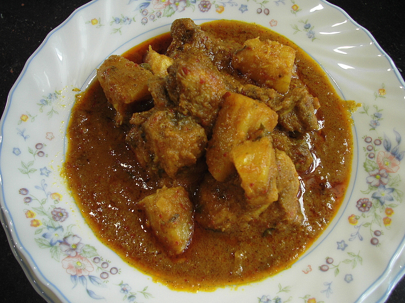 TAMARIND CHICKEN CURRY
