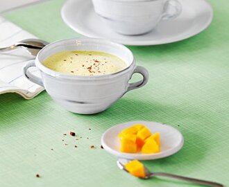 Mango-Lauch-Suppe