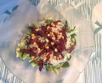 The Cook with Biltong Club: Asian-style biltong salad