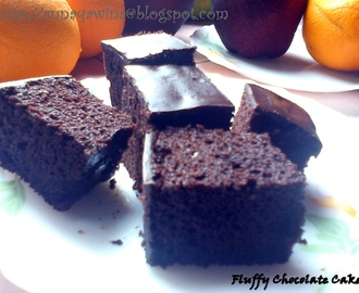 Fluffy & Moist Chocolate Cake