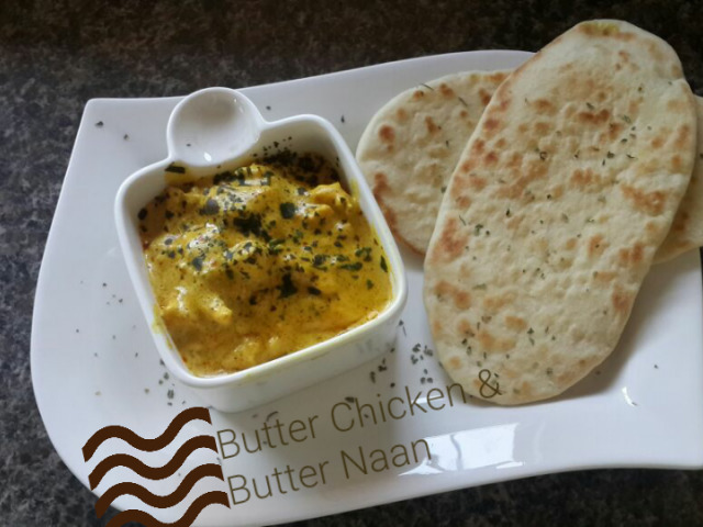 Butter Chicken and Naan