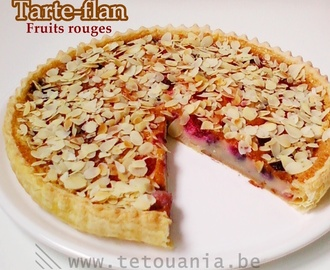 Tarte-flan aux fruits rouges