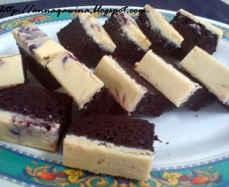 Blueberry/Marble Cheese Brownies
