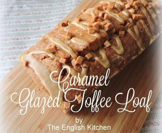 Caramel Glazed Toffee Loaf