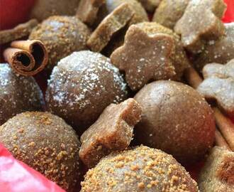 Raw Gingerbread Cookies + Balls {Vegan, Gluten-Free}