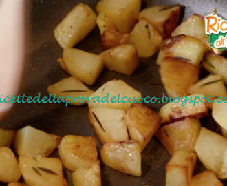 Patate arrostite in padella ricetta Anna Moroni da Ricette all'Italiana