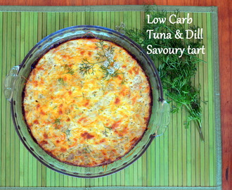 Low-Carb Tuna & Dill Savoury tart