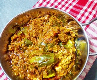Gutti Vankaya Kura | Stuffed Brinjal Curry