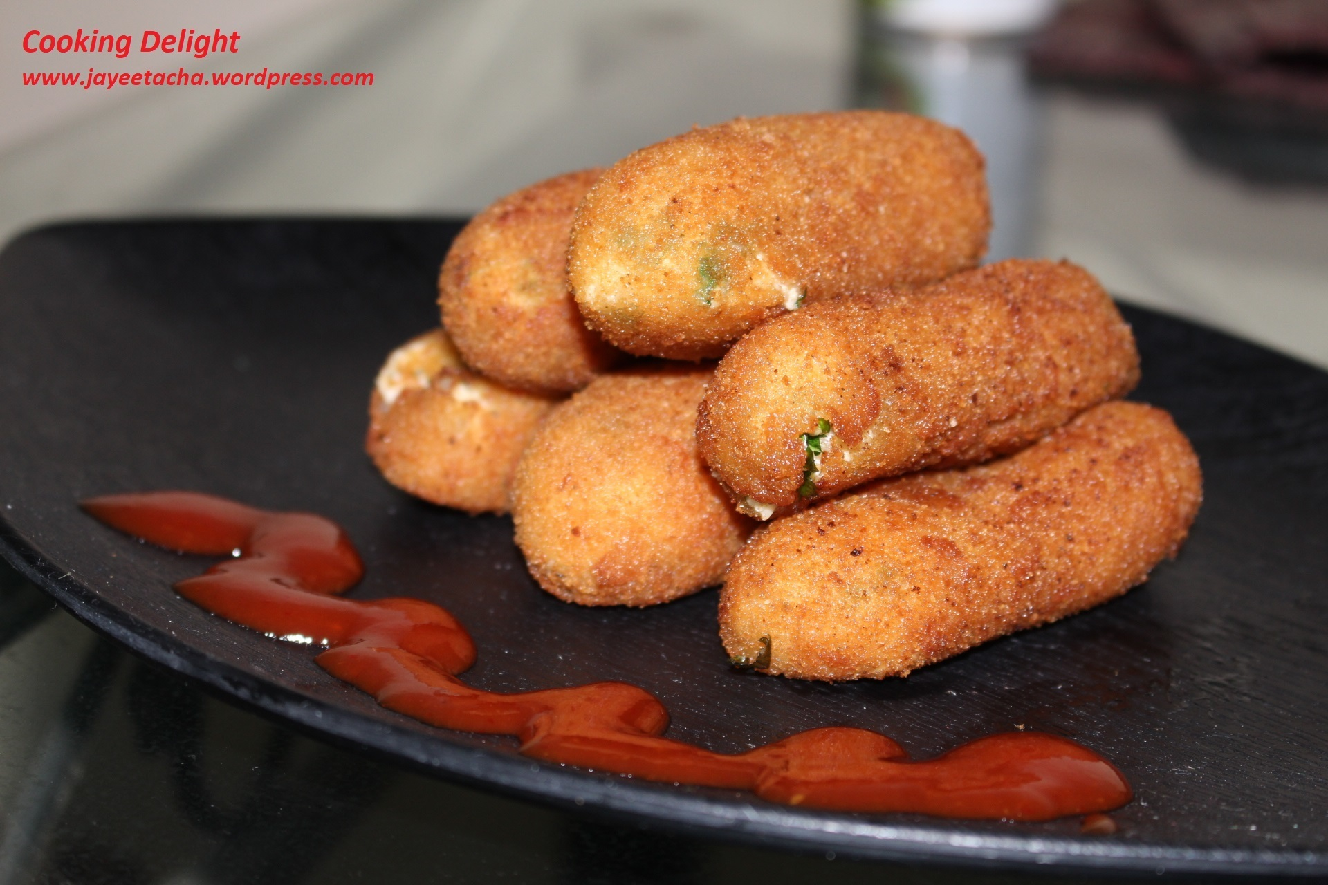 Paneer er Chop (Cottage Cheese Croquettes/ Cutlets)