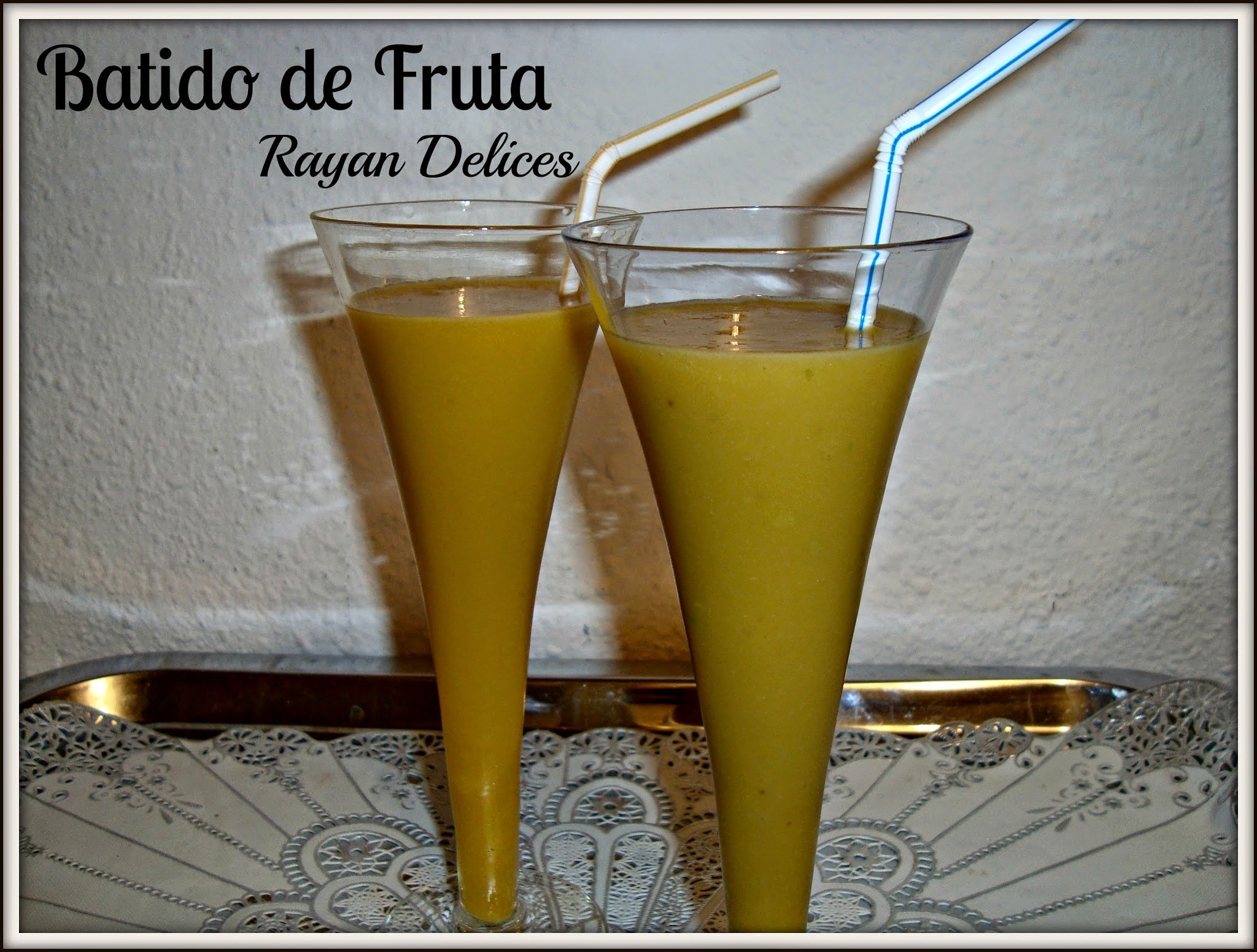 Smoothie Aux Fruits (Batido de fruta)
