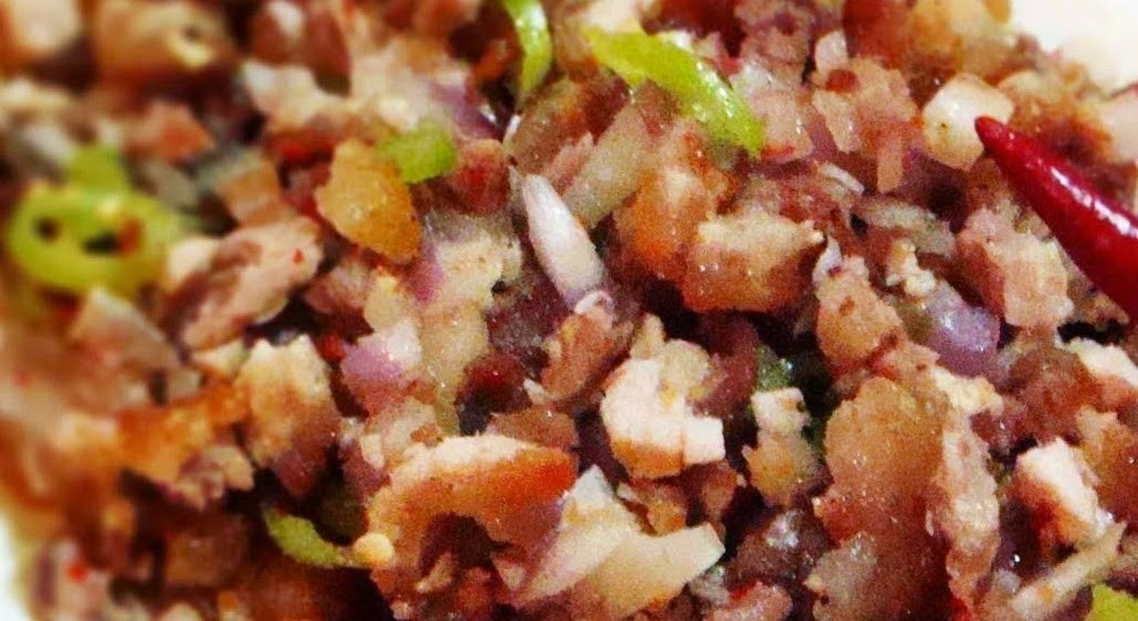 Making Sisig from Pork Liempo #FilipinoFoodsPhilippines