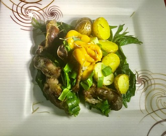 Rosemary Gizzards And Potatoes