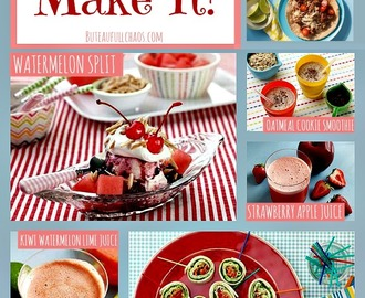 Kids Can Make It! Recipes for the Dog Days of Summer!