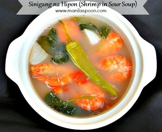 Shrimp in Sour Soup (Sinigang na Hipon)