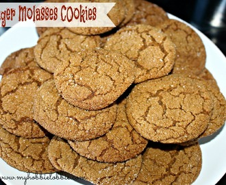 SRC Cookie Carnival: Ginger Molasses Cookies