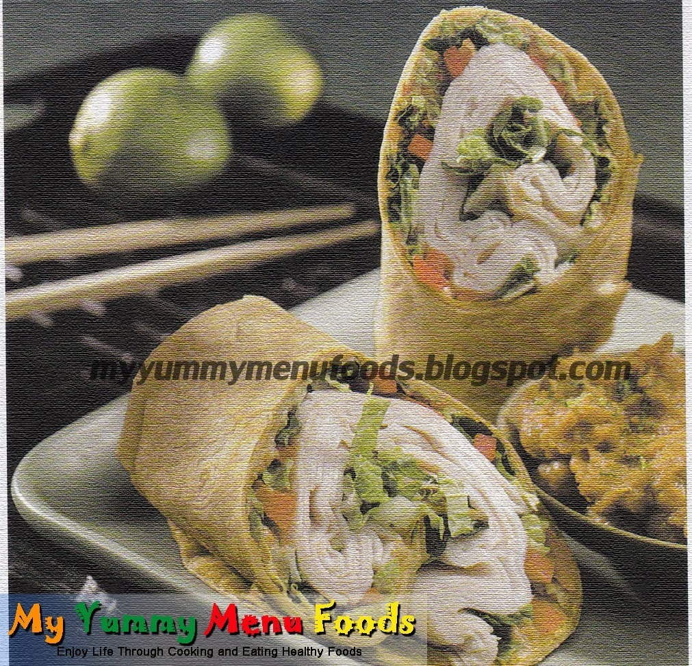 TURKEY ROLL (THAI STYLE)