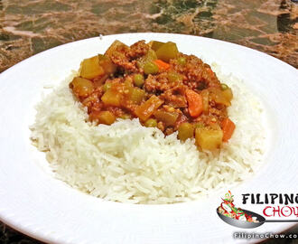 Giniling Guisado (Ground Beef with Bell Peppers)