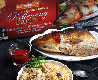 Fisher Farms Gourmet Baked Rellenong Bangus Fried Rice and My Favorite Fisherfarms Products