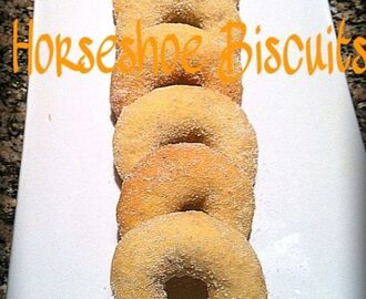HORSE SHOE BISCUITS