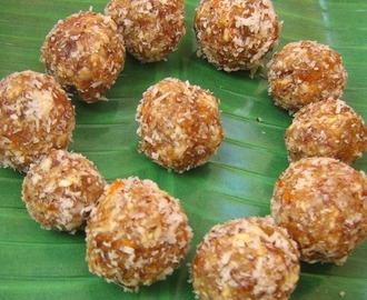 Dates ladoo / Dates and nuts ladoo