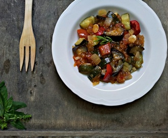 Tapioca & Ratatouille (paleo, whole30)
