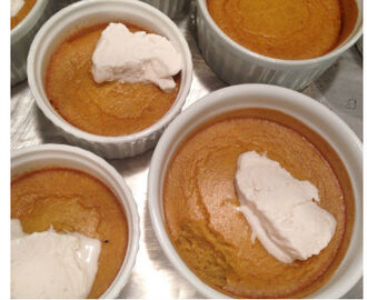 Quick and Easy Pumpkin Coconut Milk Souffle Cups