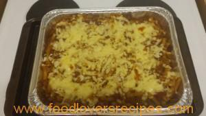 BEEF AND PASTA BAKE – THE BEST