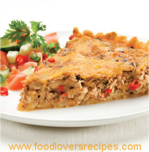 PILCHARDS MEXICAN QUICHE