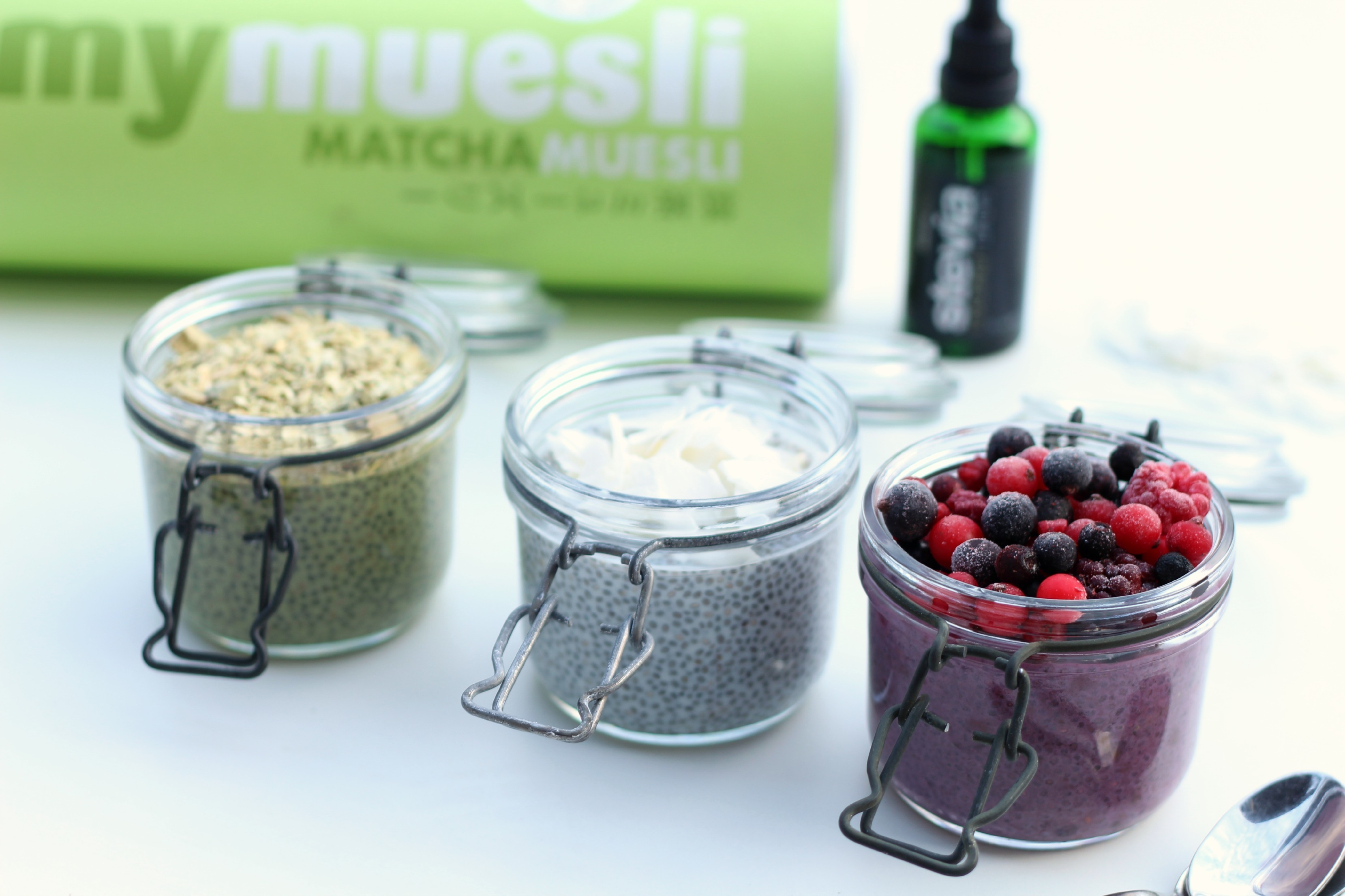 Chia Pudding – 3 Mal anders