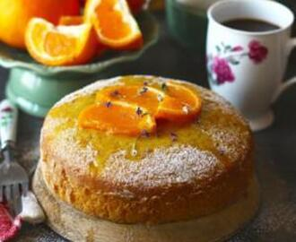 TEA TIME ORANGE CAKE