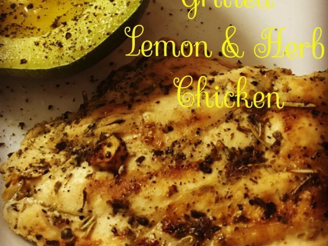 Grilled Lemon and Herb Chicken