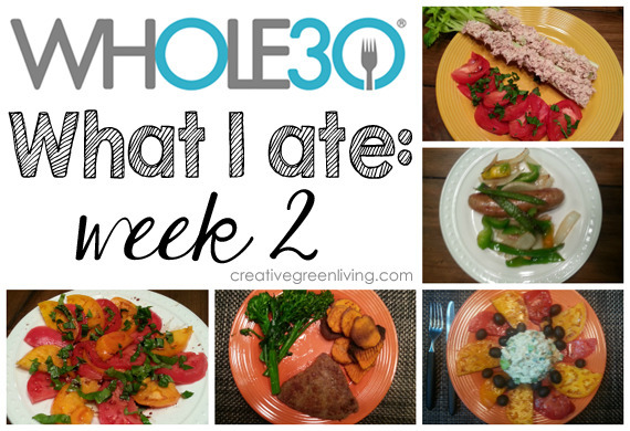 Whole 30: What I Ate Week 2