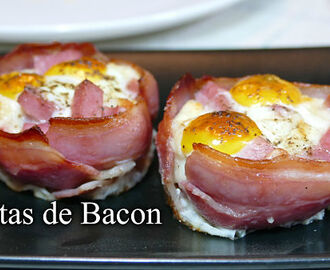 Cestas de bacon