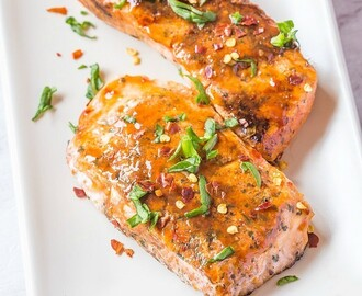 Easy Sweet Chilli Salmon