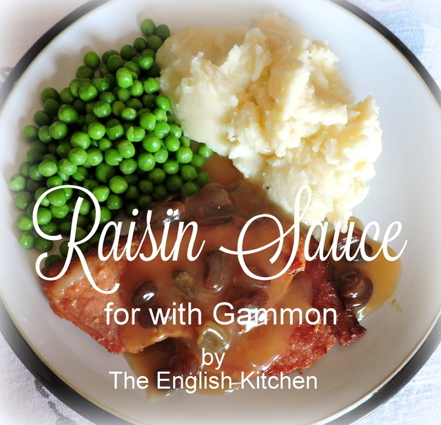 Raisin Sauce (for with Gammon or Ham)