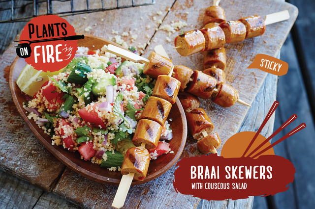 The Ultimate Vegetarian Braai