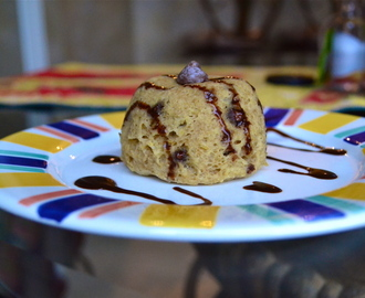 Chocolate Chip Cookie Dough MugCake [GF, DF]