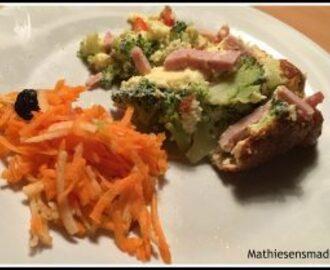 Broccoli skinke gratin opskrifter - myTaste