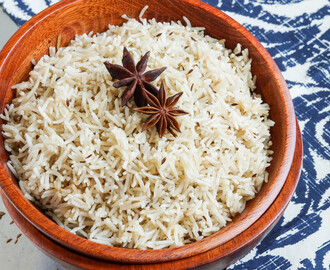 Jeera Pulao (Indian Cumin Rice)