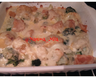 Cheesy veg bake - my version