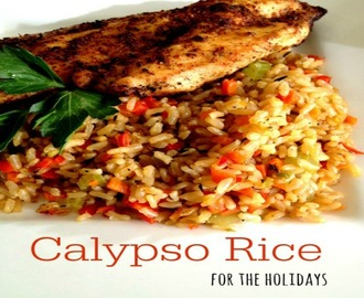 Calypso Rice for the Holidays