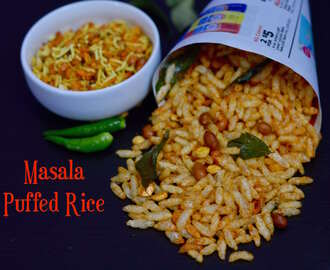 Masala Puffed Rice|Mandakki Chivda|Spicy Garlic Puffed Rice